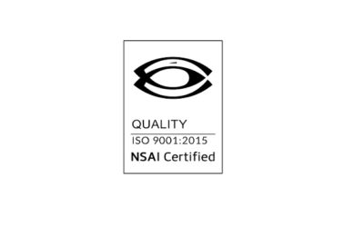 Corporate Care certified to ISO9001:2015 quality standard