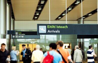 Updates for travel into Ireland
